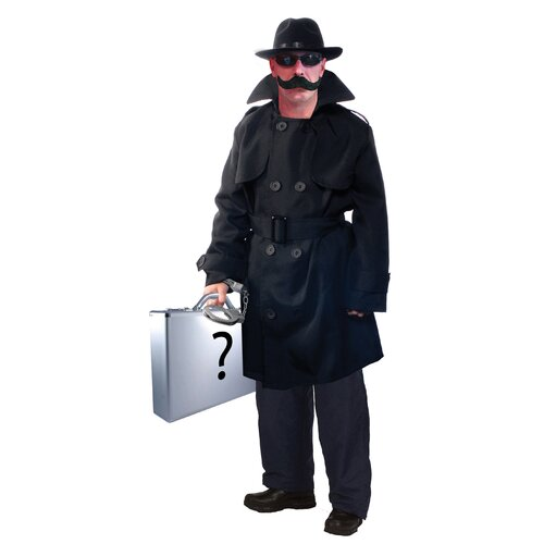 Aeromax Adult Secret Agent with Accessories