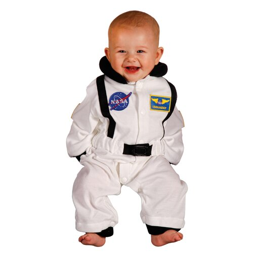 Jr. Astronaut Suit for 6-12 Months Costume in White