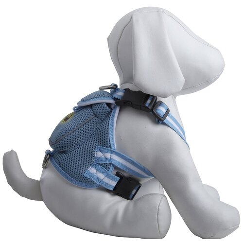 Pet Life Fashion Mesh Dog Harness with Back Pouch
