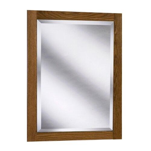 Amalfi Series Red Oak Framed Mirror