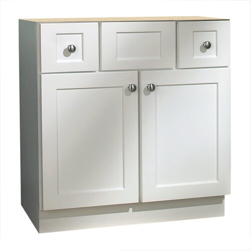 "Coastal Collection Cape Cod Series 30"" Bathroom Vanity Base"