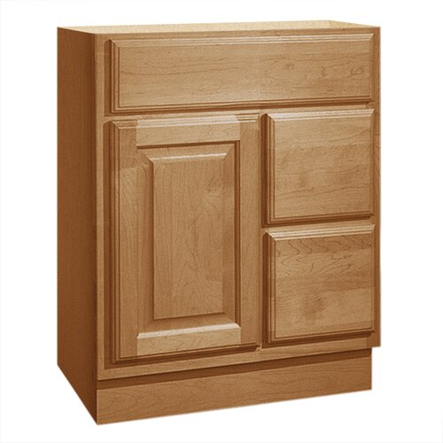 "Coastal Collection Salerno Series 24"" Maple Bathroom Vanity Base"
