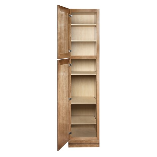 "Coastal Collection Georgetown Series 84"" x 18"" Freestanding Linen Cabinet"