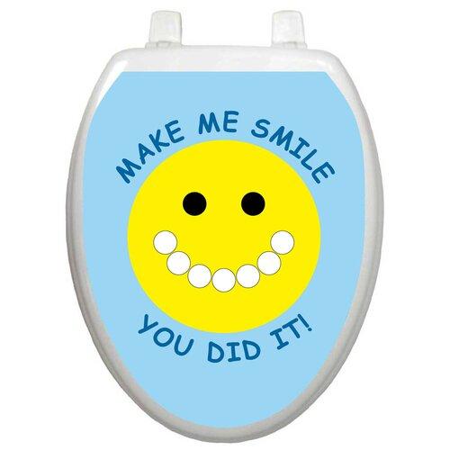 Toilet Tattoos Toilet Training Smiley Face Toilet Seat Decal
