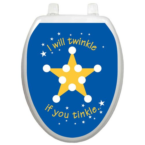 Toilet Tattoos Toilet Training Twinkle Star Toilet Seat Decal