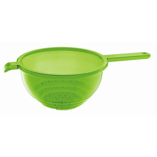 Latina Colander with Handle in Green