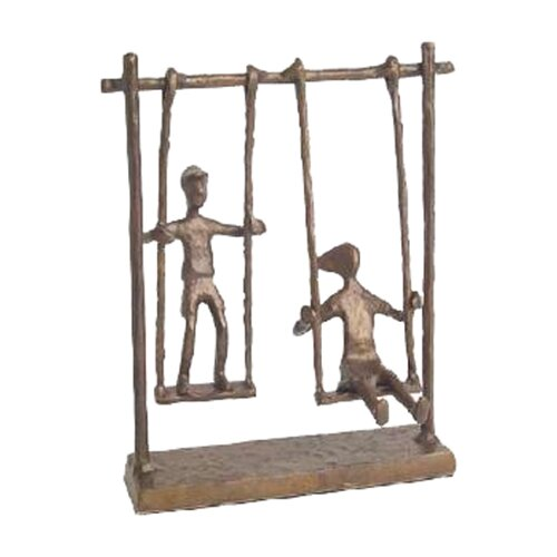 Danya B Children on Swings Figurine