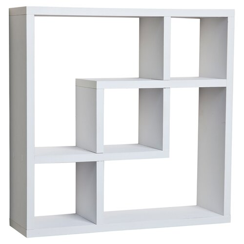Danyab Evelyn Geometric Square Wall Shelf Amp Reviews Wayfair