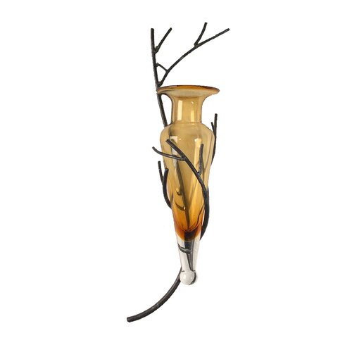 Danya B Amphora Vase on Twig Wall Sconce