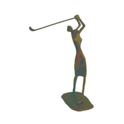 Female Golfer Figurine
