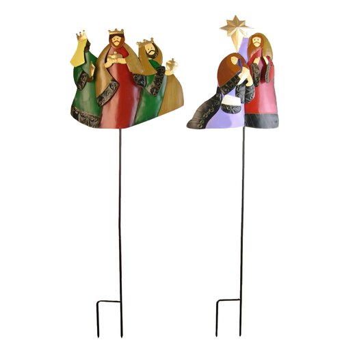 Nativity Garden Stake (Set of 2)