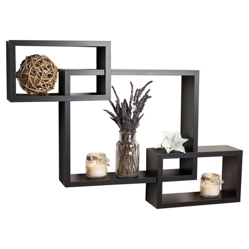 Danya B Intersecting Wall Shelf