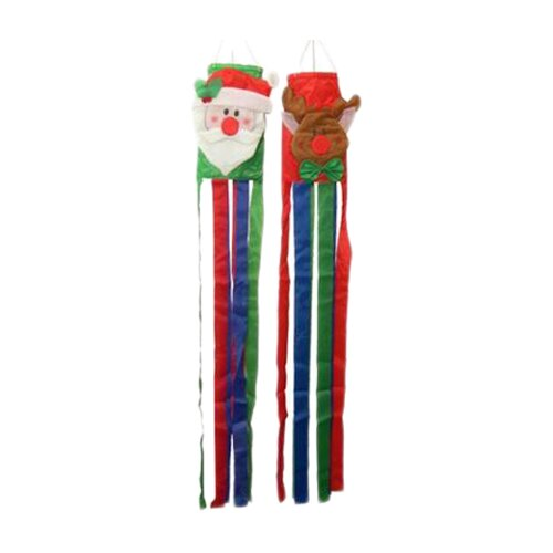 Danya B Christmas Wind Sock Christmas Decoration