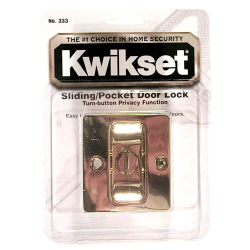 Kwikset Pocket Door Locking Pull