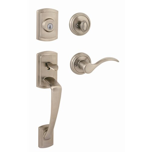 Kwikset Nautica Single Cylinder Handle Set with Lever