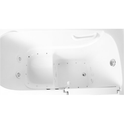 "Ariel Bath 60"" x 26"" Air Walk-in Tub"