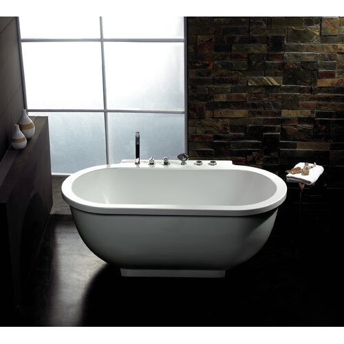 ariel bath 71 quot x 37 quot whirlpool bathtub reviews wayfair