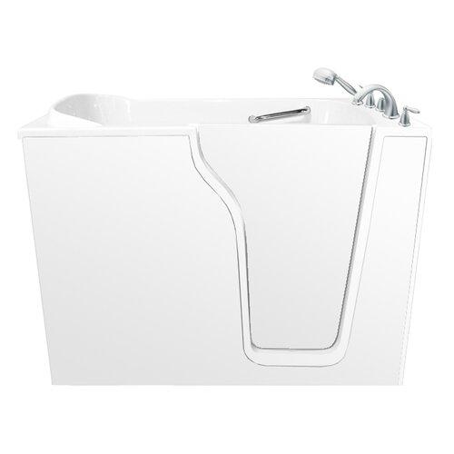 """Ariel Bath 55"""" x 35"""" Dual Walk-in Tub"""