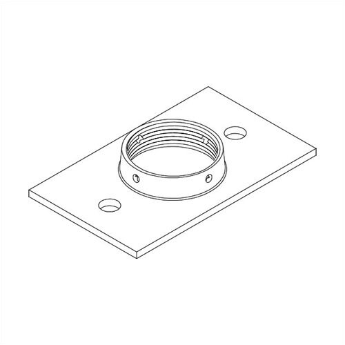 Peerless Structural Ceiling Plate for Projectors and Small Flat Panel Screens