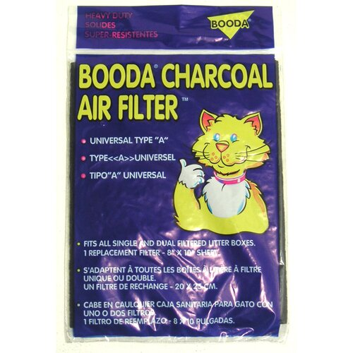 BOODA Pet Products Universal Litter Box Air Filters 1 Count