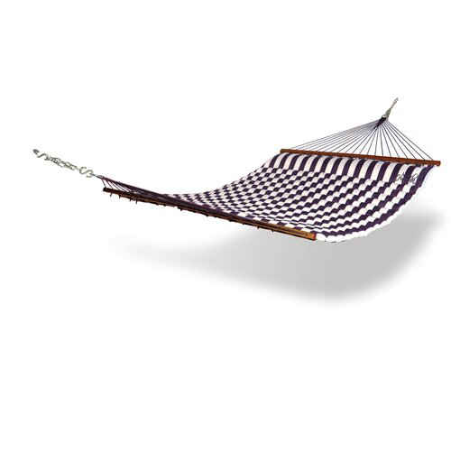 Striped Fabric Pillow Hammock