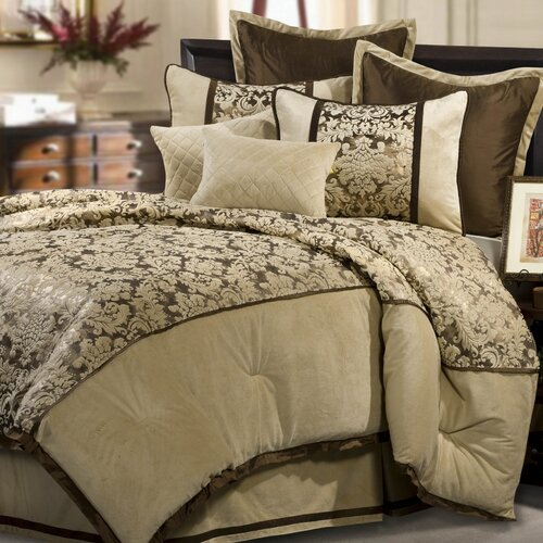 Veratex, Inc. Venzato 8 Piece Comforter Set