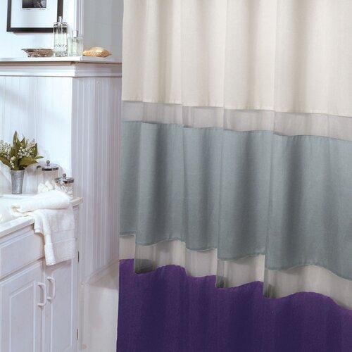 Veratex, Inc. Marin Polyester Shower Curtain