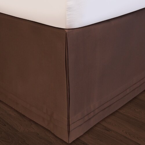 "Veratex, Inc. ""Hike Up Your Skirt"" Matte Satin Bed Skirt"