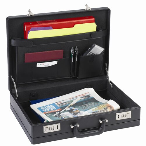 Solo Cases Classic Attache Case