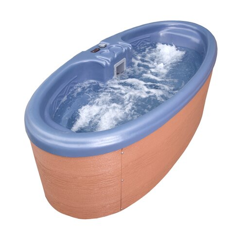 QCA Spas 2-Person 10-Jet Duet Oval Spa
