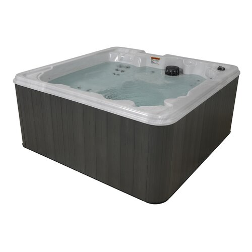 QCA Spas 6-Person 30-Jet Rio Buena Wrap Around Lounger Spa