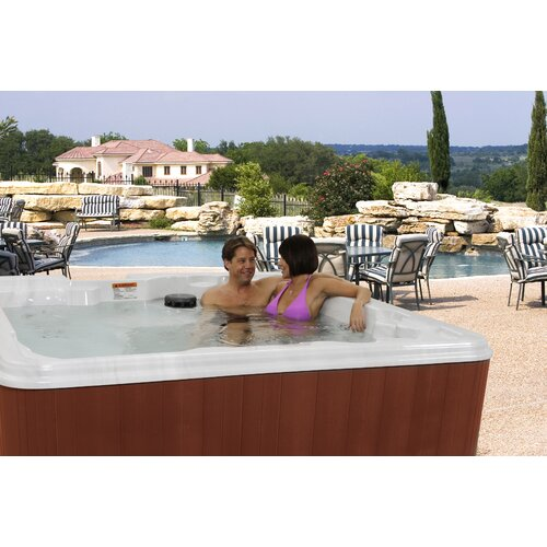 QCA Spas 6-Person 70-Jet St. Thomas Lounger Spa