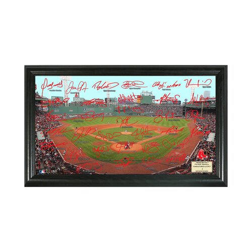 Highland Mint MLB Signature Field Framed Graphic Art