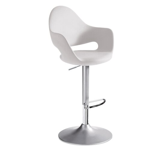 "Domitalia Soft 33.23"" Adjustable Bar Stool"