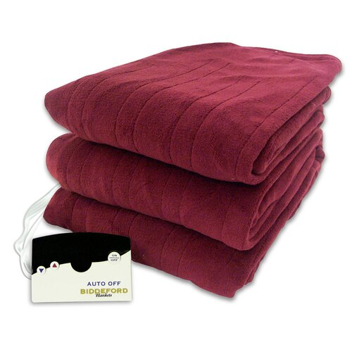 Comfort Heated Polyester Knit Blanket