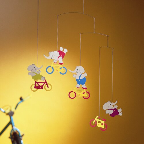 Flensted Mobiles Cyclephants Mobile