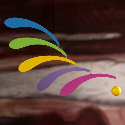 Flensted Mobiles Abstract Flowing Rhythm Mobile