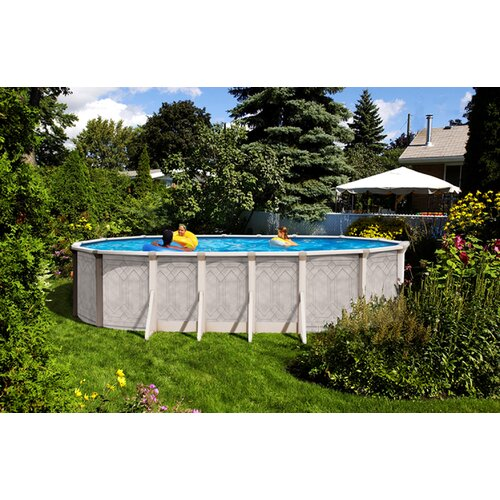 Trevi aqua mate by trevi oval 52 deep sunscape above for Trevi pools