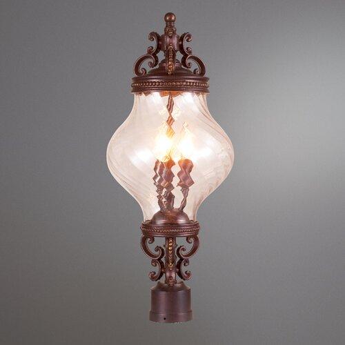 Eurofase Prefect 3 Light Post Lantern