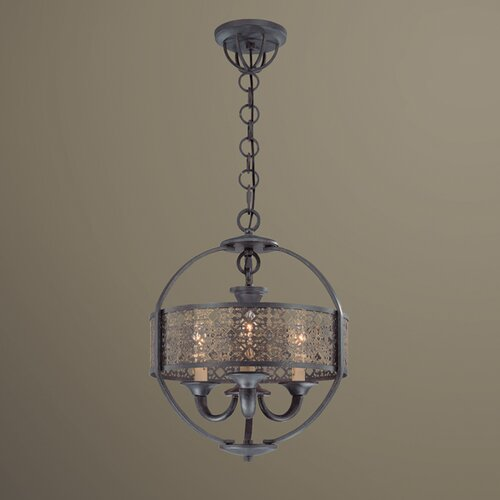 Eurofase Arsenal 3 Light Chandelier