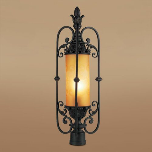 Eurofase Glenhaven 1 Light Outdoor Post Lantern