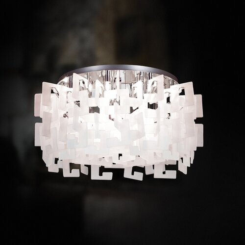 Eurofase Numero 14 Light Semi Flush Mount