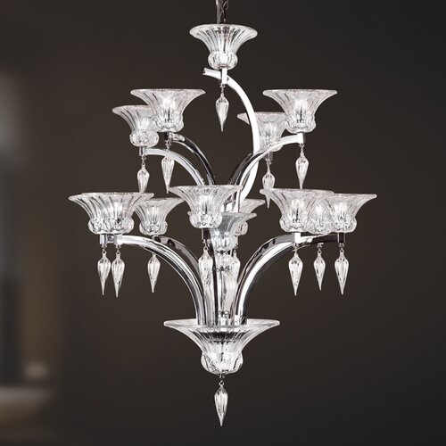 Ombrelle 12 Light Chandelier