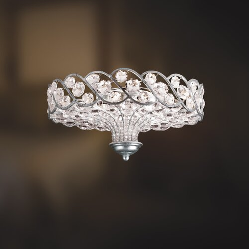 Eurofase Catara 6 Light Semi Flush Mount