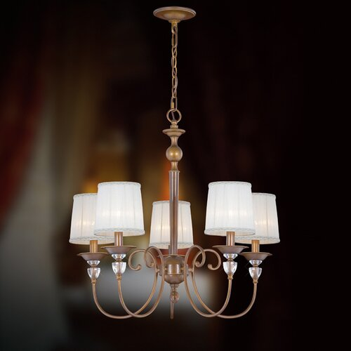 Eurofase Locksley 5 Light Chandelier