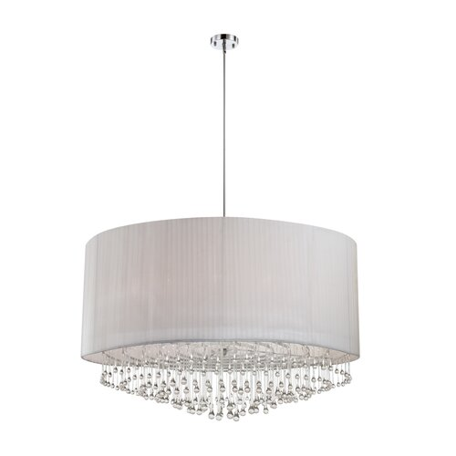 Penchant 12 Light Drum Pendant