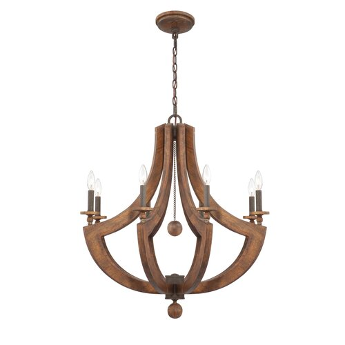 Lenio 8 Light Chandelier
