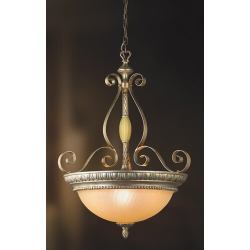 Seraphine 3 Light Foyer Pendant