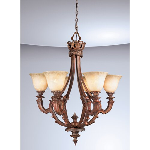 Eurofase Tiverton 6 Light Chandelier