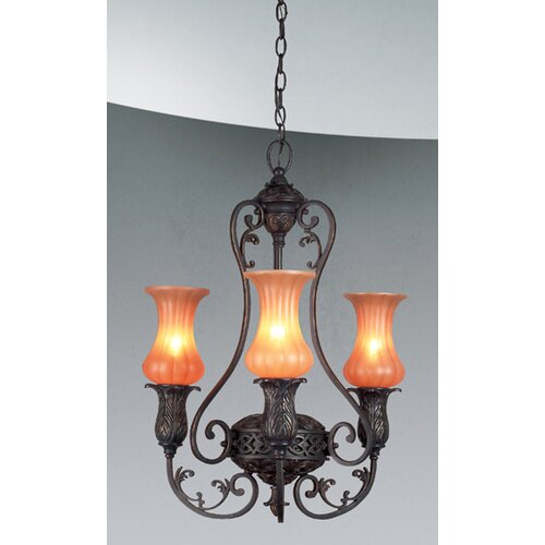 Eurofase Richtree 3 Light Chandelier